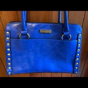 Royal blue purse. Great condition. Gianni Bini.